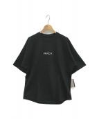 RVCA(ルーカ)の古着「別注BIG Tシャツ」|ブラック