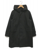 THE NORTH FACE(ザノースフェイス)の古着「ボールドフーデットコート」 ブラック
