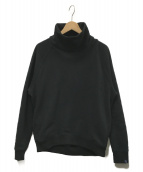 Graphpaper(グラフペーパー)の古着「HIGH NECK SWEAT」|ブラック