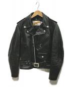 Schott(ショット)の古着「ダブルライダースジャケット」|ブラック