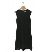 FOXEY NEWYORK(フォクシーニューヨーク)の古着「プリーツドレス」 ブラック