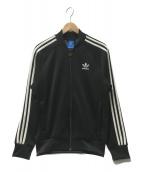 adidas originals(アディダスオリジナルス)の古着「トラックジャケット」|ブラック