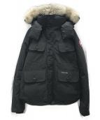 CANADA GOOSE(カナダグース)の古着「ダウンジャケット」|ブラック
