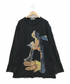 Yohji Yamamoto pour homme(ヨウジヤマモトプールオム)の古着「ニット」|ブラック
