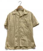 save khaki united(セーブカーキユナイテッド)の古着「オープンカラーシャツ」|ベージュ
