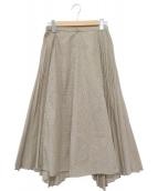 UNITED TOKYO(ユナイテッドトウキョウ)の古着「プリーツスカート」 ベージュ