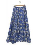 MARIHA(マリハ)の古着「マキシスカート」 ブルー
