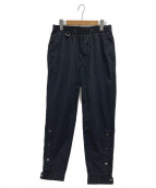 MONKEY TIME(モンキータイム)の古着「G/DY PE NYLON TRACK PANTS」|ブラック