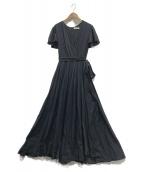 MARIHA(マリハ)の古着「マドモアゼルのドレス」 ネイビー