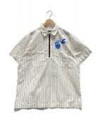 CUNE(キューン)の古着「物流出荷スタッフ S/Sシャツ」 アイボリー