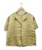 TODAYFUL(トゥデイフル)の古着「カラーレスラフシャツ」 カーキ