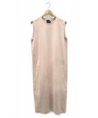 ATON(エイトン)の古着「タンクトップドレス」|ピンク