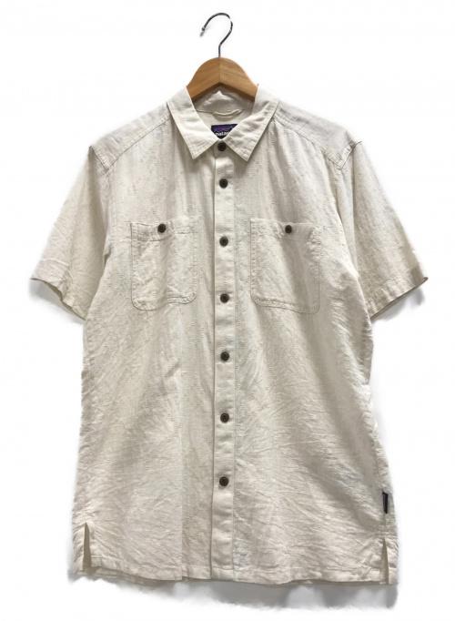 Patagonia(パタゴニア)Patagonia (パタゴニア) バックステップシャツ ベージュ サイズ:Sの古着・服飾アイテム