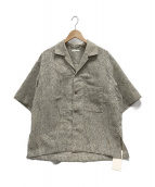 LIDnM(リドム)の古着「ジャカードペイズリーシャツ」 グレー
