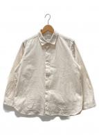 YAECA(ヤエカ)の古着「ワイドコンフォートシャツ」|ホワイト