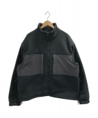 NIKE ACG(ナイキエーシージー)の古着「マイクロフリースジャケット」|ブラック