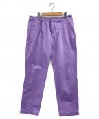 Reception(リセプション)の古着「Club Pants」|ラベンダー