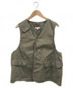 Engineered Garments(エンジニアドガーメンツ)の古着「Upland Vest」|グリーン