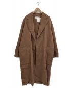 TODAYFUL(トゥデイフル)の古着「ウールオーバーコート」|ブラウン
