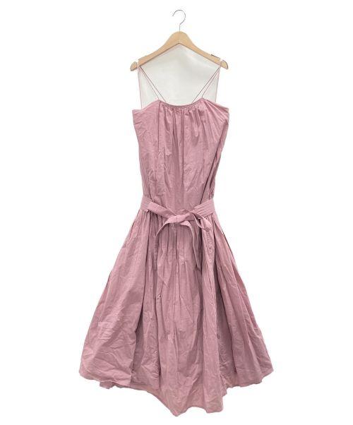 Rosary moon(ロザリームーン)ROSARY MOON (ロザリームーン) Cotton Loan Cami Dress ピンク サイズ:Fの古着・服飾アイテム