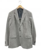 BOSS HUGO BOSS(ボスヒューゴボス)の古着「2Bジャケット」|グレー