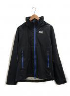 MILLET(ミレー)の古着「グランドロレインジャケット」|ブラック×ブルー