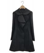 YOHJI YAMAMOTO(ヨウジヤマモト)の古着「ウールコート」|ブラック