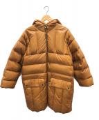 ()の古着「シープスキンダウンジャケット」|ブラウン