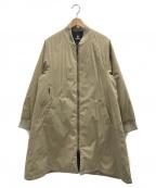 GOLDWIN(ゴールドウイン)の古着「インサレーションコート」 ベージュ