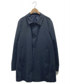 HACKETT LONDON(ハケットロンドン)の古着「ステンカラーコート」|ネイビー