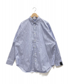 N.HOOLYWOOD(エヌハリウッド)の古着「ストライプシャツ」|ブルー
