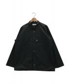 Graphpaper(グラフペーパー)の古着「コットンタイプライターシャツ」 ブラック