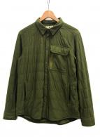 ()の古着「フレキシブルインサレーションシャツ」|グリーン