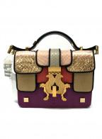 GIANCARLO PETRIGLIA(ジャンカルロ・ペトリグリア)の古着「2WAYバッグ」|ピンク