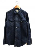 orSlow()の古着「ワークシャツ」|インディゴ