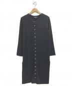 agnes b(アニエスベー)の古着「ジャージーワンピース」|ブラック