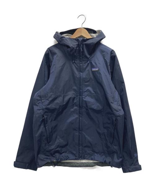 Patagonia(パタゴニア)Patagonia (パタゴニア) トレントシェルジャケット ネイビー サイズ:Mの古着・服飾アイテム