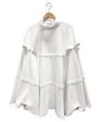 le coq sportif(ルコックスポルティフ)の古着「ポンチョ」|ホワイト