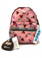 LeSportsac(レスポートサック)の古着「リュック」|ピンク