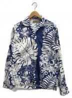 MISTER FREEDOM(ミスターフリーダム)の古着「アロハシャツ」 ネイビー