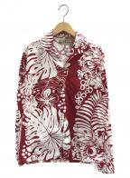 MISTER FREEDOM(ミスターフリーダム)の古着「アロハシャツ」 レッド