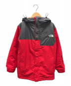 ()の古着「フェイキージャケット」|レッド×グレー