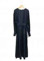 muller of yoshiokubo()の古着「バックスリットドレス」 インディゴ