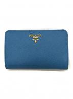 ()の古着「2つ折り財布」|スカイブルー