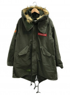 HOUSTON(ヒューストン)の古着「M65ジャケット」 セージグリーン