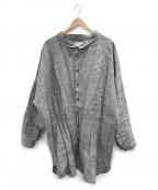 TROVE(トローブ)の古着「リネンシャツ」|グレー