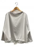 BEARDSLEY(ビアズリー)の古着「プルオーバーブラウス」 ライトグレー