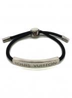 LOUIS VUITTON(ルイ ヴィトン)の古着「ブレスレット」|ブラック