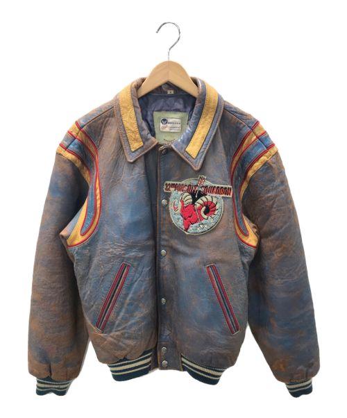AVIREX(アヴィレックス)AVIREX (アヴィレックス) フライトジャケット ブラウン サイズ:Mの古着・服飾アイテム