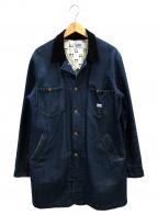 LEE()の古着「デニムショップコート」|インディゴ